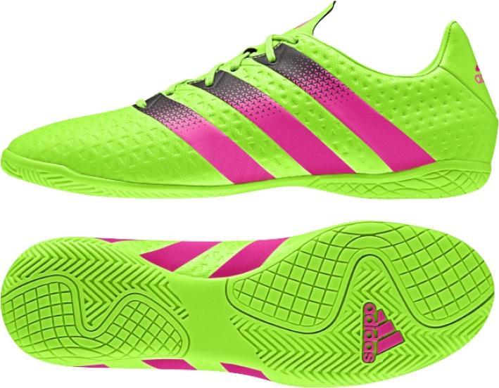 4e9e8fefda0 Adidas ACE 16.74 IN dětské sálové kopačky empty
