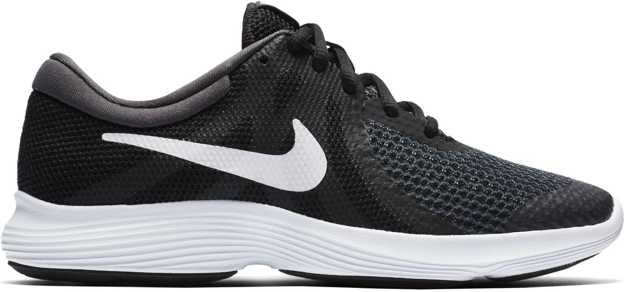 Nike Revolution 4 dětská obuv na volný čas černá  ea71c4a659