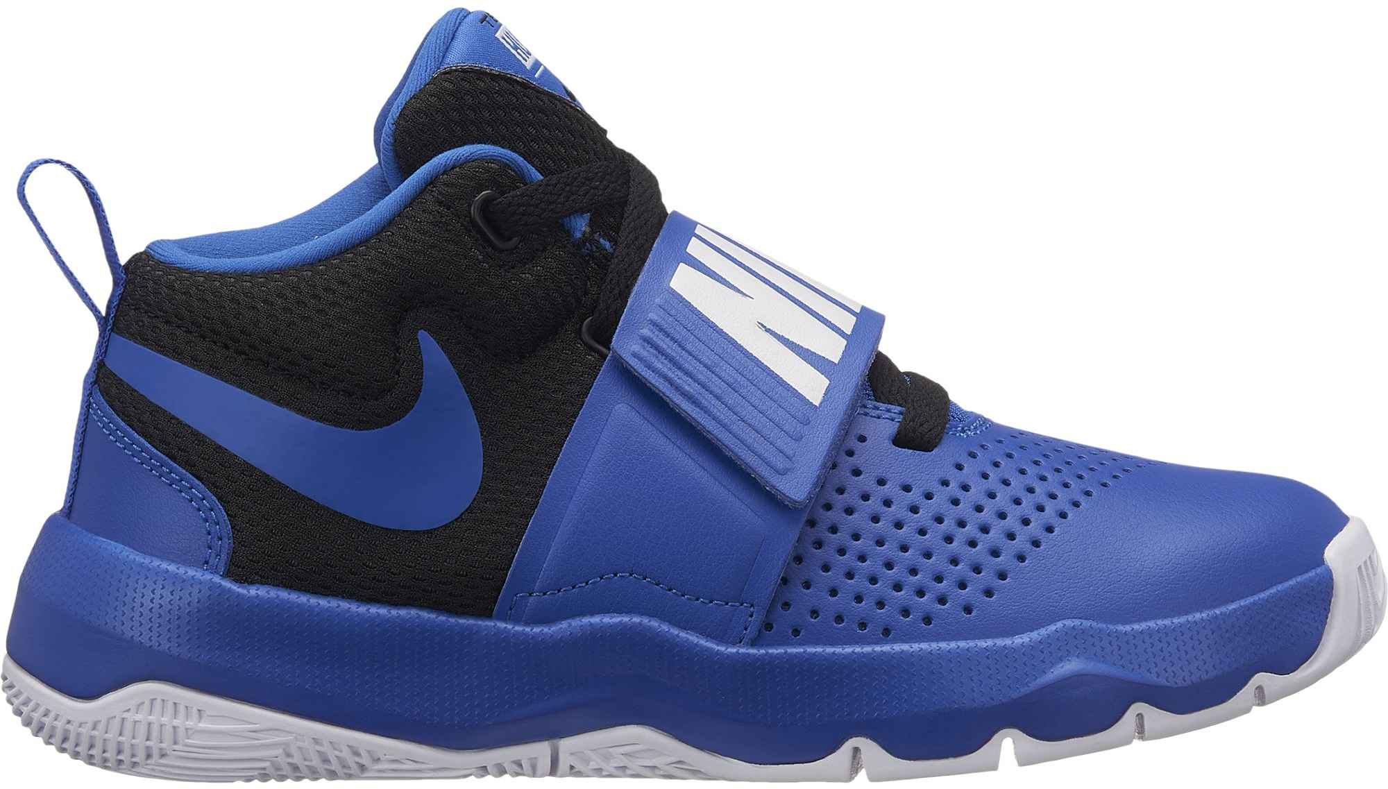 774af2ae06de9 Nike Team Hustle dětská basketbalová obuv modrá/černá | Sport ...