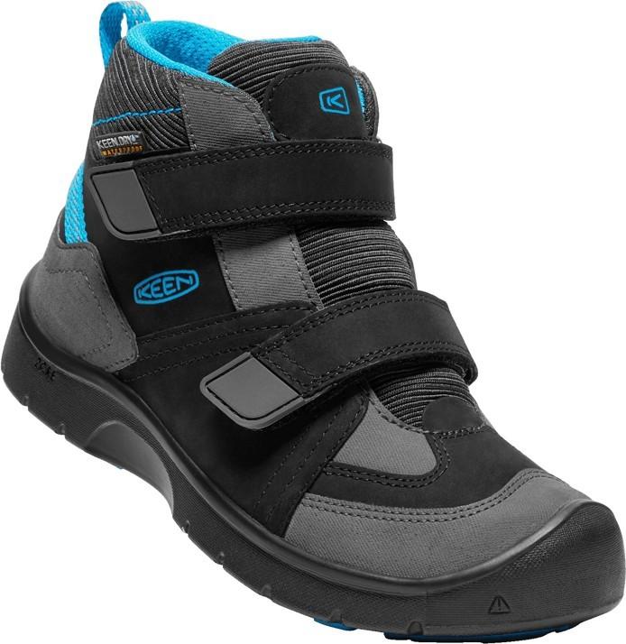 Keen Hikeport MID STRAP dětská kotníková obuv black blue jewel empty 6ec6cd3579
