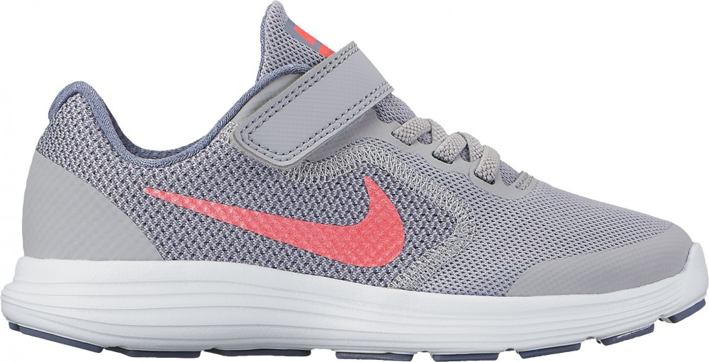 Nike Revolution 3 junior obuv na volný čas běh šedá růžová empty f9863c69dc