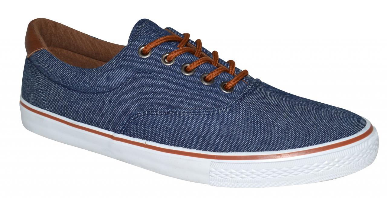 Loap Simeone pánské plátěné boty na volný čas modrá empty dec0fc6fff