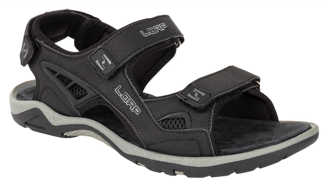 Loap Reoul pánské sandály černá empty 141f32f5ec