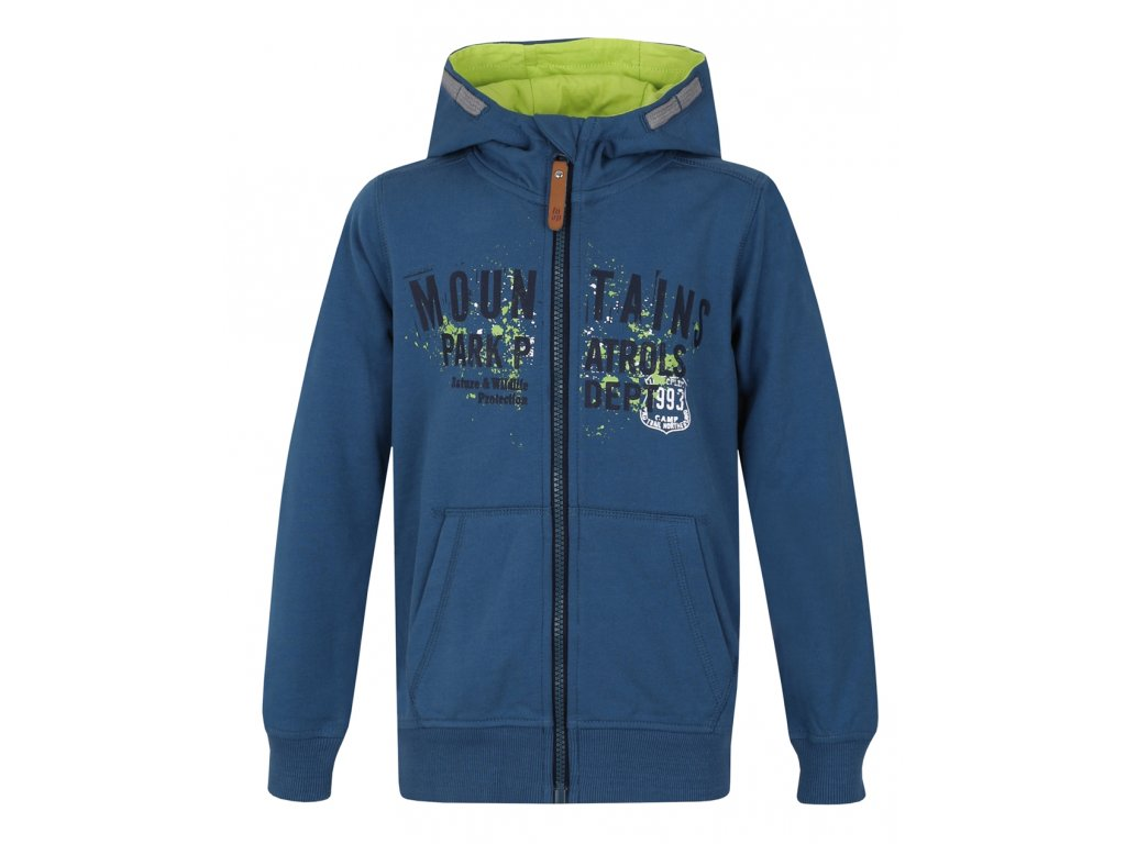 Loap Degi dětská mikina s kapucí modrá empty 6cb0e03e38