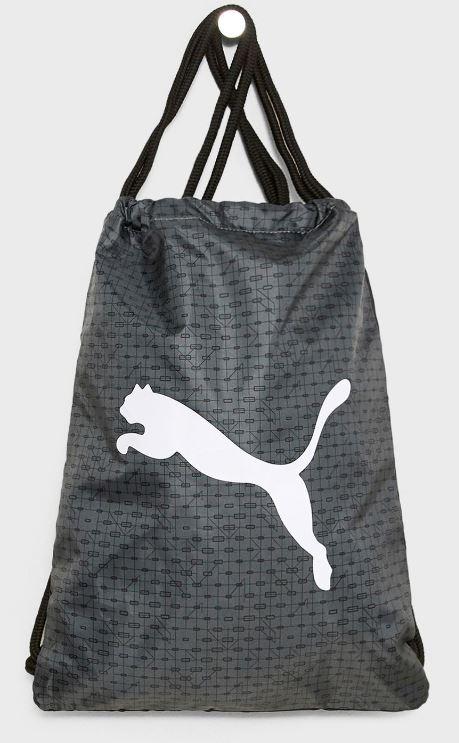 Puma Beta gym sack vak na záda černá šedá empty 95892e43e6