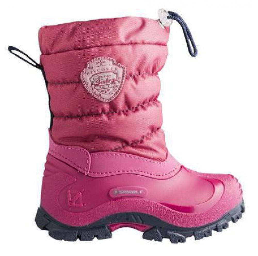 Spirale Sandy dětská zimní obuv tmavě růžová vel. 31-35 empty 9562e85223
