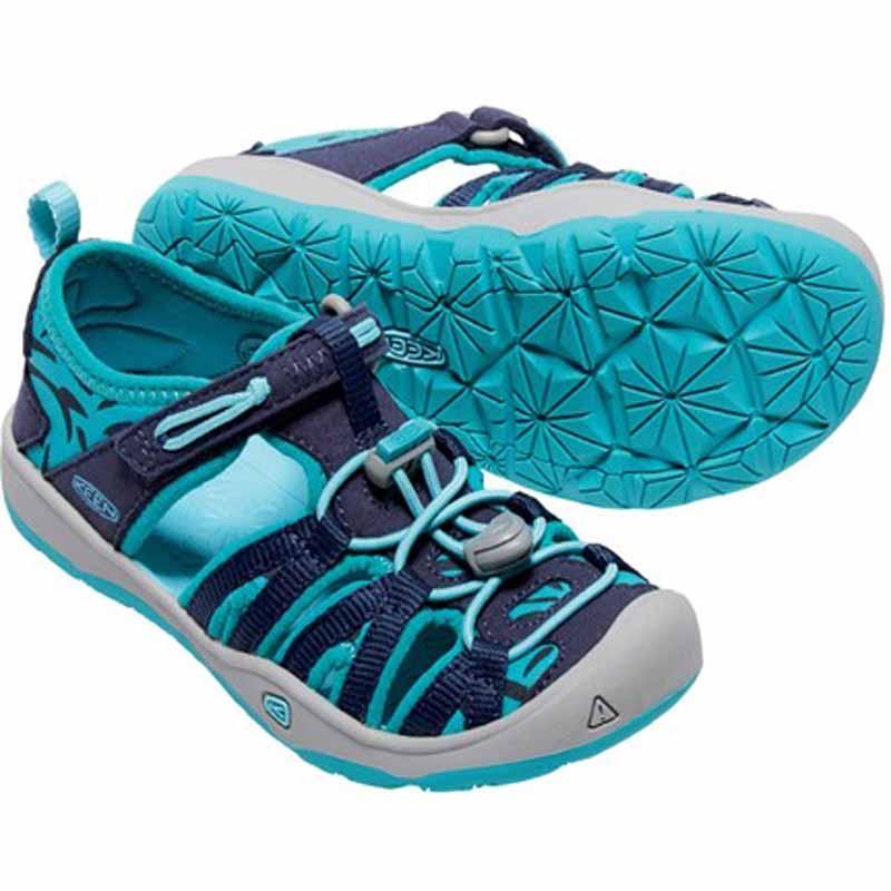Keen Moxie dětské sandály dress blues viridian empty 61b70e5ab3
