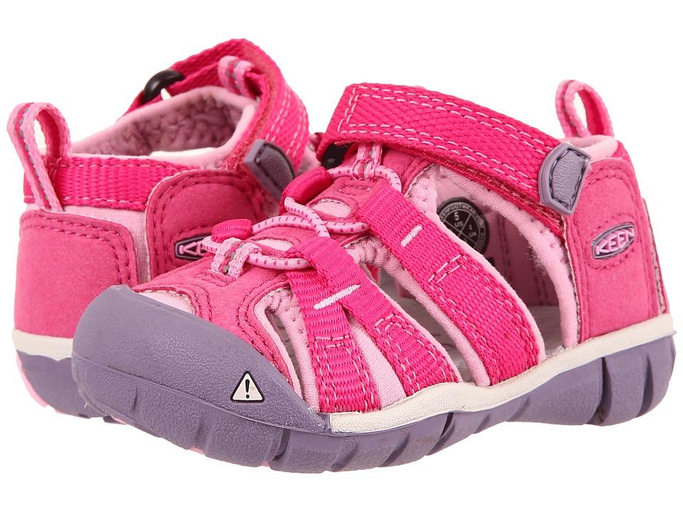 Keen Seacamp dětské sandály very berry lilac chiffo empty 01f27879d8