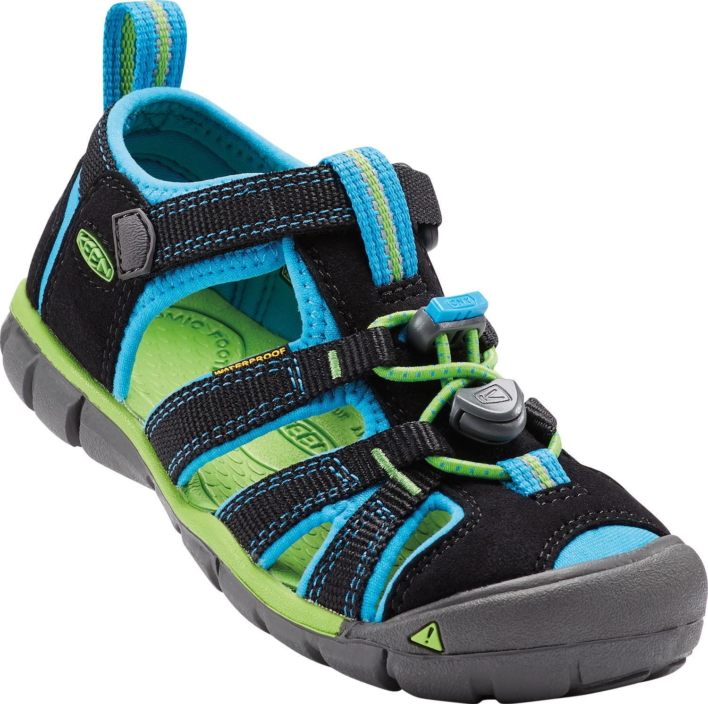 Keen Seacamp dětské sandály black blue danube empty 2633f0f9c8