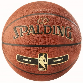 Spalding NBA Gold basketbalový míč