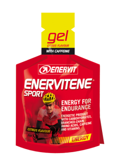 Enervit Sport gel 25ml citrus+kofein